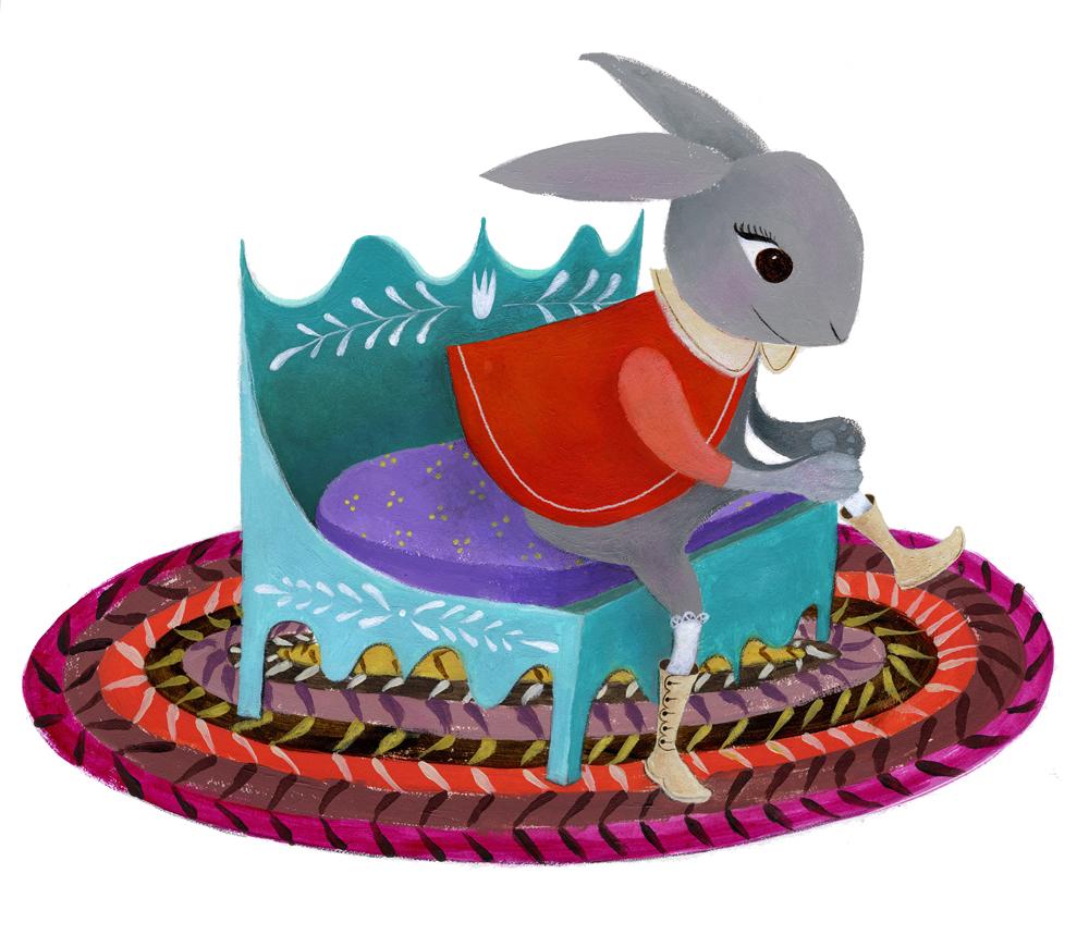 bunny-bench