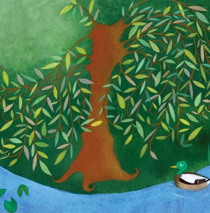 Willow Tree (for Ladybug magazine)